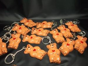 petits oursons porte clé