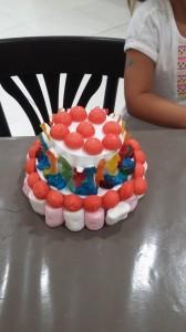 gateau de bonbons