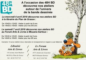 Atelier Spécial BD Avril 2018 48 heures BD