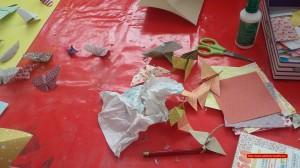 tableau en origami