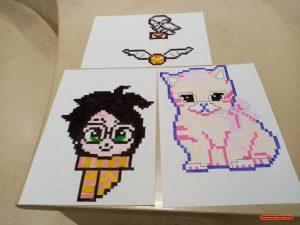 Pixel Art Les Ateliers Créatifs Dannie